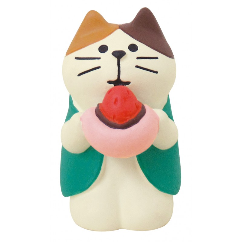 Decole Concombre - Doll Goods - Traveling Cat Sakura Trip 2021 Series - Fukuoka Daifuku Cat