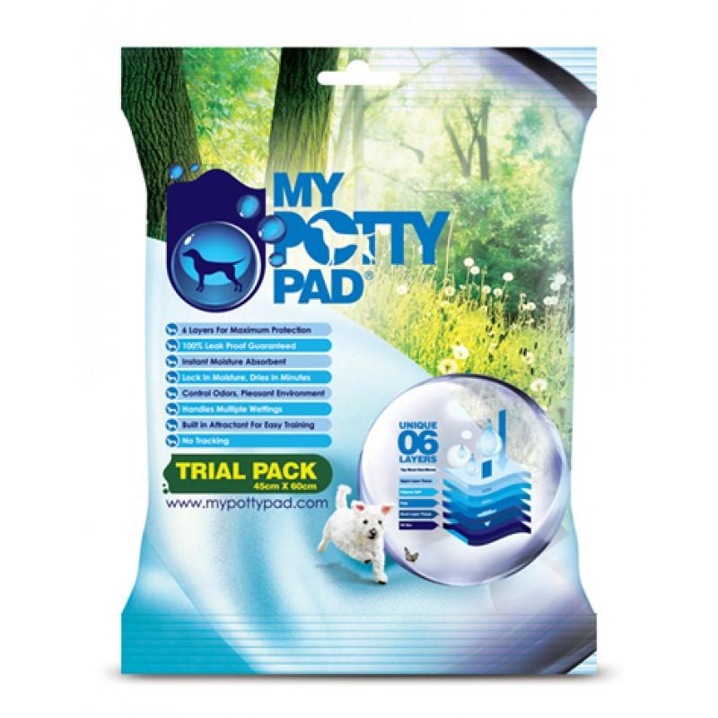 MY POTTY PAD 殿堂吸 Urine Pad Six Layers - Individual 1 pc Pack [Sanitary & Clean] 45x60cm - Special price $12/4 packs