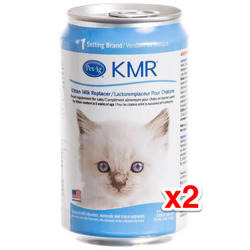 Pet Ag Newborn Kittens and Mother Cat Nutrition Milk (Canned) 236ml x2 Cans /$43pc=$86