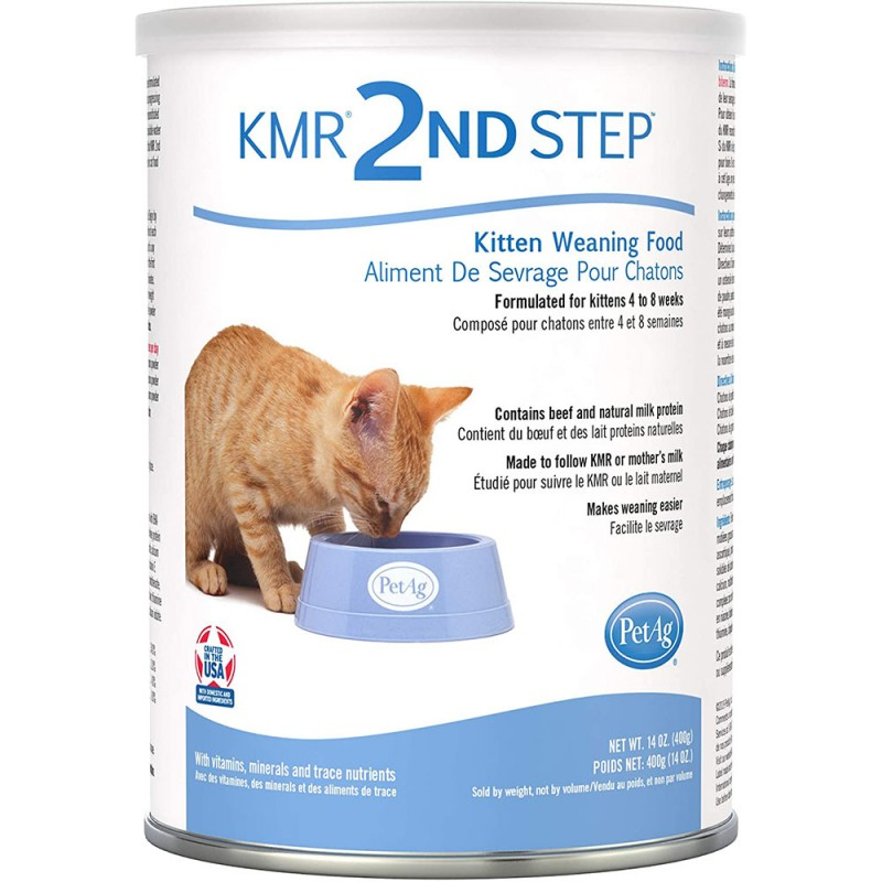 Pet Ag  The Second Stage Kitten Nutrition Milk Powder 396g  (Buy set of bonus points will make up later)