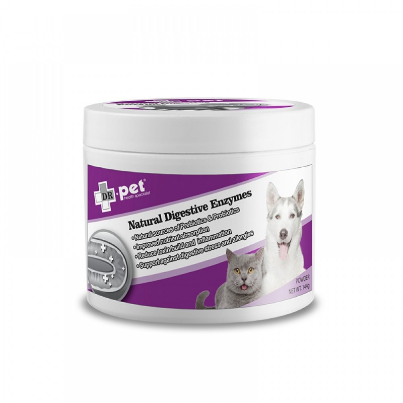 Dr.Pet Natural Digestive Enzymes 144g - Product Available