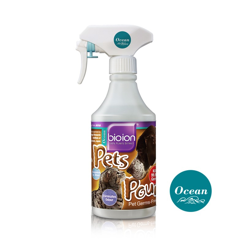 Bioion - PETS POUNCE PETS SANITIZER OCEAN 500ml