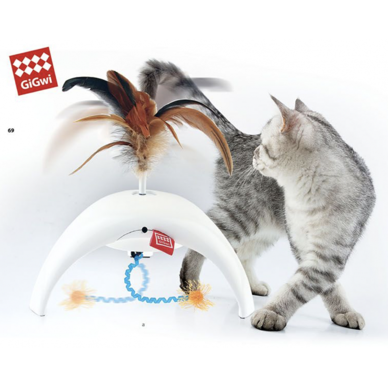 GiGwi PetDroid Feather Spinner