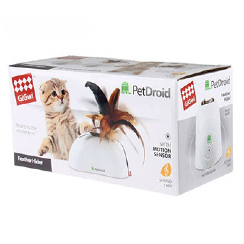 GiGwi PetDroid Feather Hider