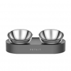 Petkit Fresh Nano  Stainless Steel Adjustable Angle Cat Bowl  Double Bowl