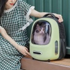 Petkit Breezy Smart Ventilation Backpack - Green  [Premium Goods, One Year Maintenance] - Product Available