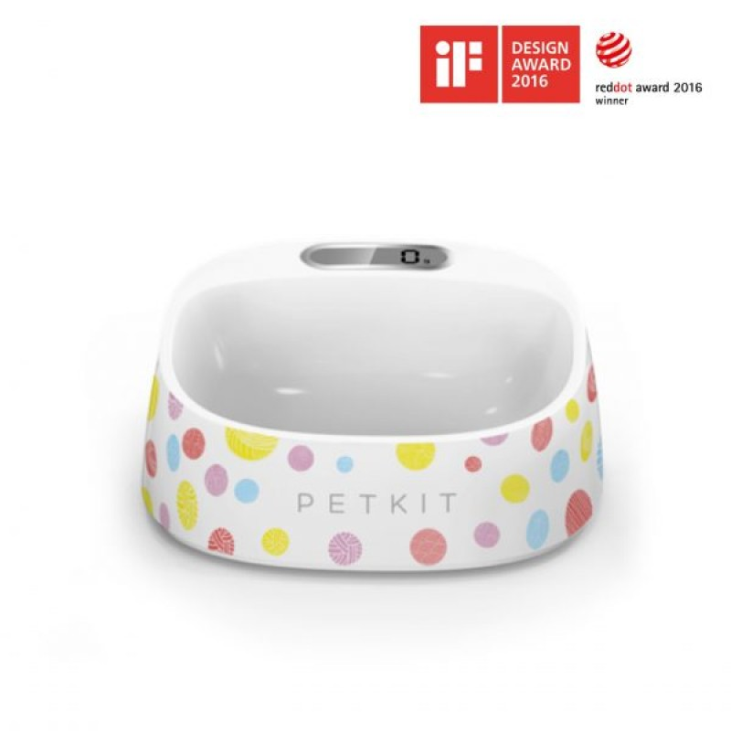 Petkit Fresh Intelligent Antibacterial Weighing Bowl  [Premium Goods, One Year Maintenance] - Color Pompom  [Out of Stock]