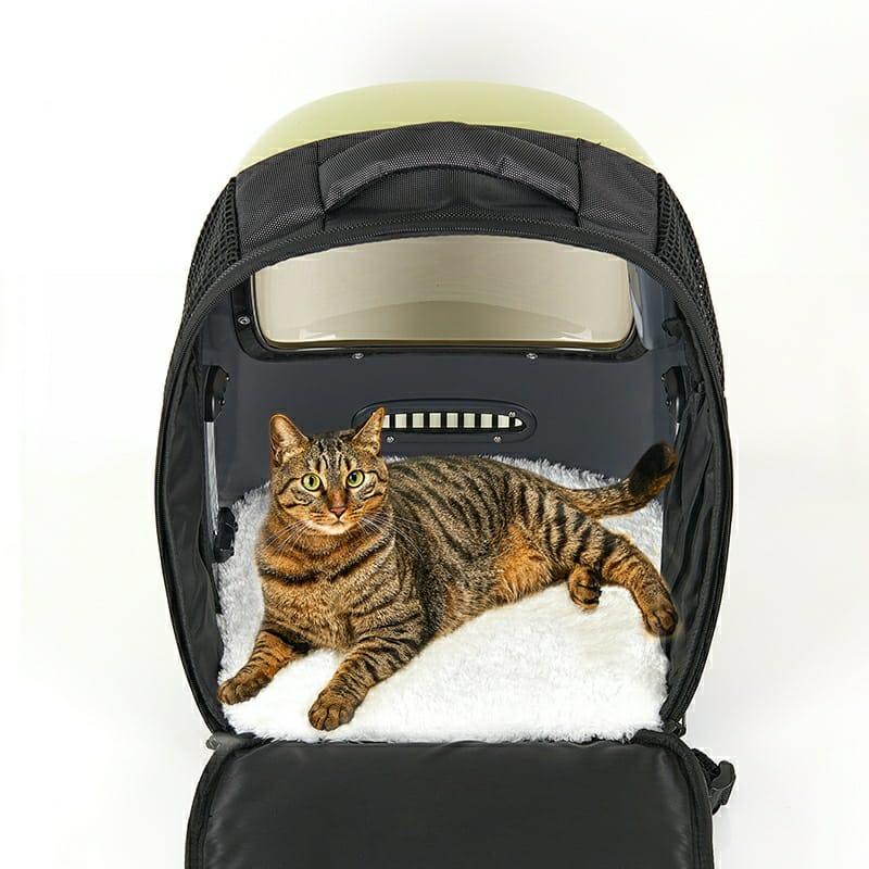 Petkit Breezy Smart Ventilation Backpack - Dedicated Warmth Plush Pad