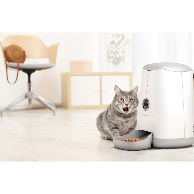 Petoneer Nutri Smart Pet Feeder with Built-in Camera [Premium Goods, One Year Maintenance]