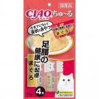 CIAO Tuna Sauce - Foot and Waist Health (Made in Japan) 4pcsX14g
