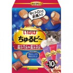 CIAO Flowing Granule - Bonito Fish+Chicken Flavour (Made in Japan) 10pcs/Box