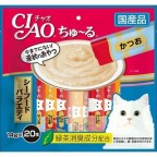 CIAO Seafood Sauce - Assorted Seafood Soup (Made in Japan) 20pcsX14g
