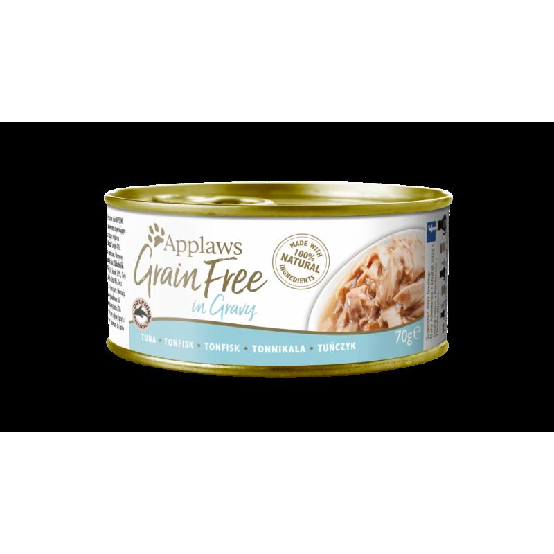 Applaws Grain Free Tuna Fillet in Broth 70g