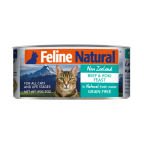 K9 Feline Naturals Premium Canned F9 - Cats Grain Free Staple Can - 24 Cans Discount Set (Choice Mixed Taste) 85gx24 Cans /$15.9/pc=$381.6
