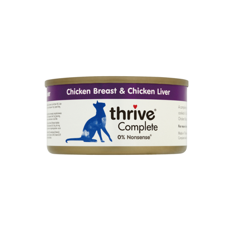 Thrive Complete Chicken Breast & Liver 75g