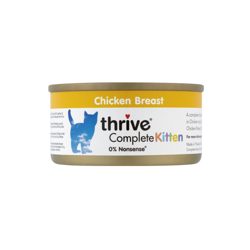 Thrive Complete Kitten Chicken Breast 75g - [Out of Stock]