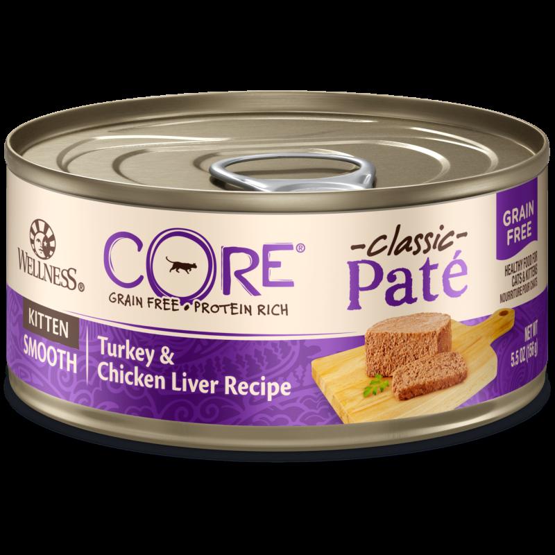 Wellness CORE Pâté® - Kitten Chicken & Turkey (Grain Free) 5.5oz