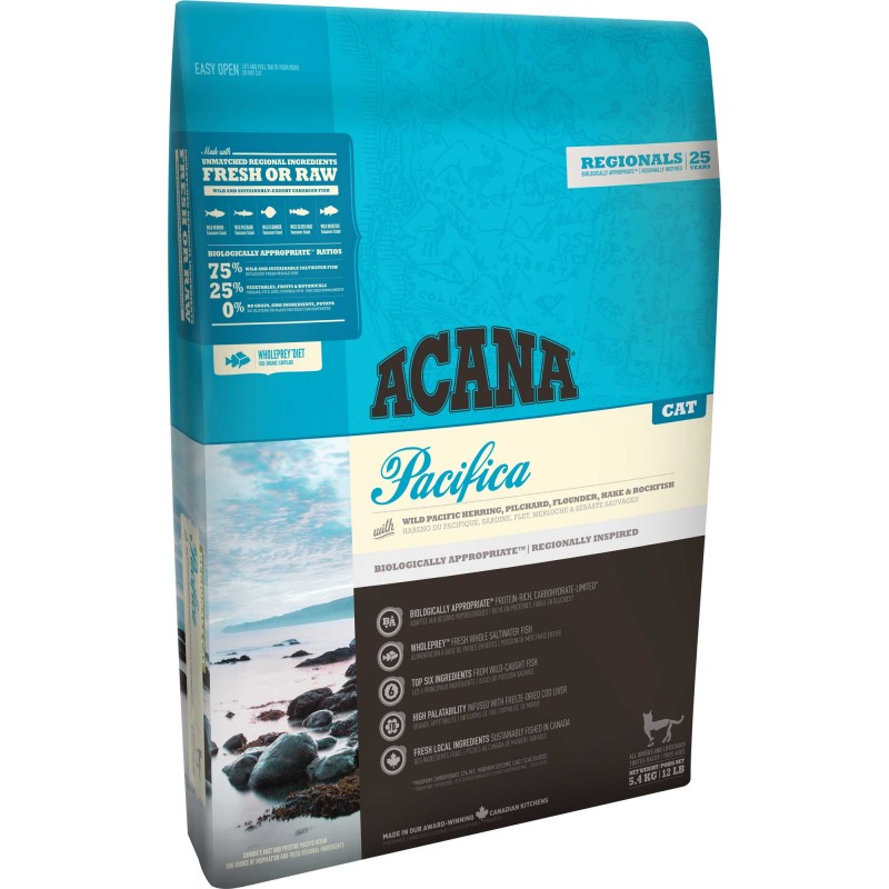Acana Regional Pacifica Cat 1.8kg (21Jun2020 Expires)