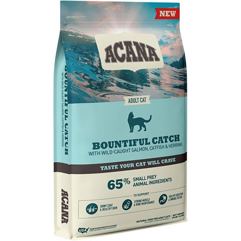 Acana Bountiful Catch for Adult Cat 4.5kg (Brand New)