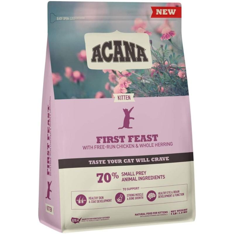 Acana First Feast Cat for Kitten 1.8kg (Brand New)