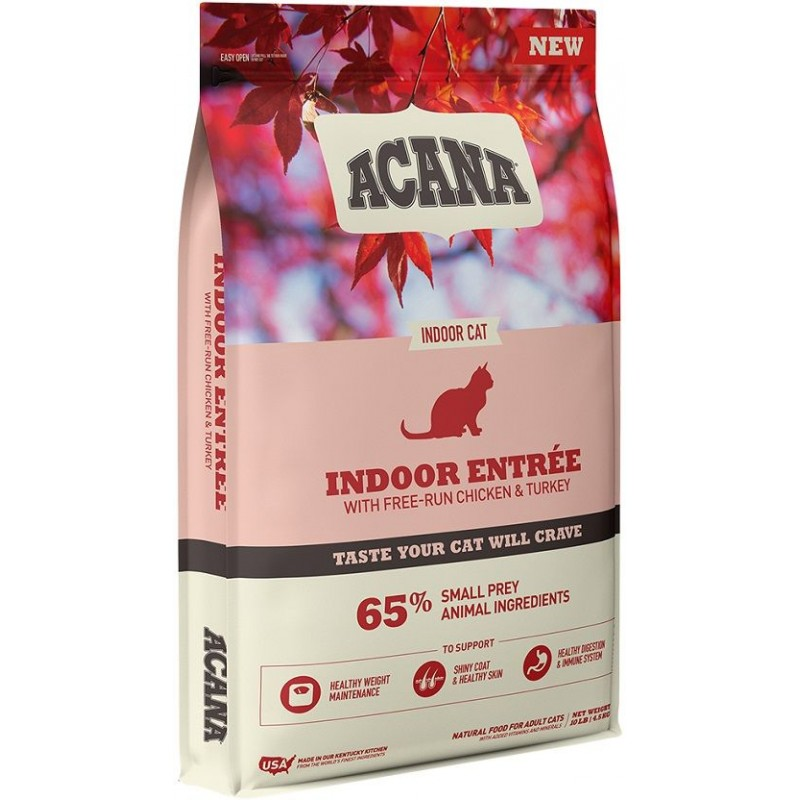 Acana Indoor Entree for Adult Cat 1.8kg (Brand New)