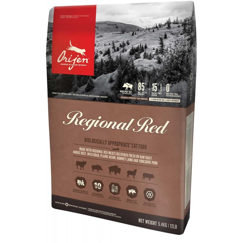 Orijen Regional Red Cat 5.4kg Canada