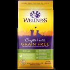 Wellness Complete Health™ Grain Free Kitten Health Deboned Chicken & Chicken Meal 5lb8oz